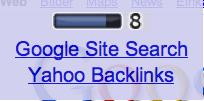 PageRank-Abfrage für das iPhone, Site-Suche und Linkabfrage